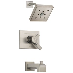 Delta Faucet Vero® 2 gpm 2-Hole Tub and Shower Trim (Trim Only) DT17453H2O