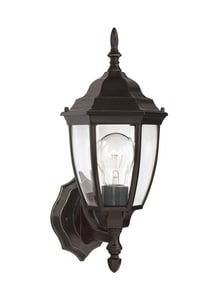 Seagull Lighting Bakersville 6-1/2 in. 100 W 1-Light Medium Lantern S88940