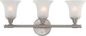 Nuvo Lighting Surrey 6-3/4 in. 100 W 3-Light Medium Bracket N60413
