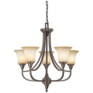 Nuvo Lighting Surrey 24 in. 60 W 5-Light Medium Chandelier N604166