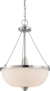 Nuvo Lighting Helium 3 Light 60W 17 in. Pendant N604187
