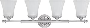 Nuvo Lighting Teller 100W 4-Light Vanity Light Fixture N604264