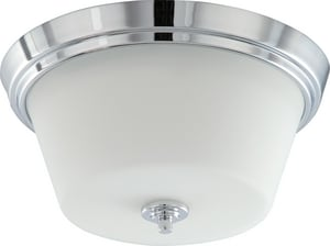 Nuvo Lighting 60W 2-Light 120V Flushmount Ceiling Fixture N604088