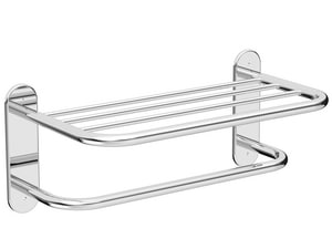 Wingits Master Rack 18 in. Towel Rack in Stainless Steel WWMRBS18