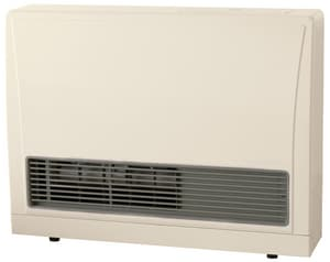 Rinnai C Series 29-9/10 in. 21500 BTU 81% AFUE 2 Ton Seven-Stage Direct Vent Natural Gas and AC Furnace REX22CNG