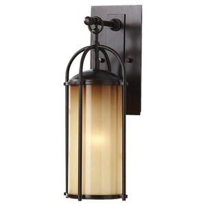 Murray Feiss Industries Dakota 100W 1-Light Wall Lantern MOL7604