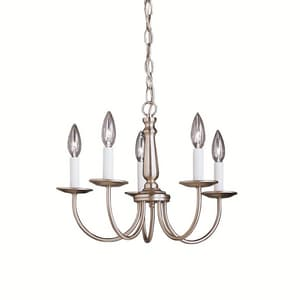 Kichler Lighting Salem 12-3/4 in. 60 W 5-Light Candelabra Chandelier KK1770