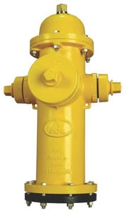 American Flow Control 4-1/2 in. Open Hydrant Vertical Base Cary AFCMK73VBOLNT