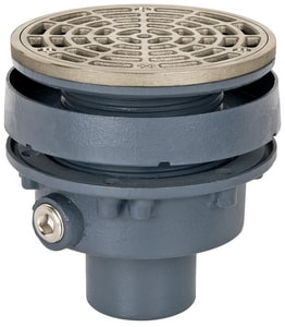 Sioux Chief Finish Line™ 2 in. Ductile Iron No-Hub Ring & Strainer S83225DNR