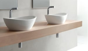 Victoria & Albert Bath Amalfi No-Hole Vessel Bathroom Sink VVBAML55