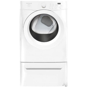 Frigidaire Affinity 7 CF Electric Front Load Dryer in White FFAQE7001LW