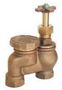 Superior Controls NPT Brass Anti Siphon Valve with Union Yellow Brass SASVUY