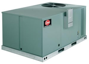 Rheem 3-Phase Gas/Electric Rooftop Air Conditioner Packaged Unit RKNLACK10E