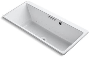 Kohler Reve® 67 x 31-1/2 x 19 in. Drop-In Bubble Massage Bath Tub K820-G0