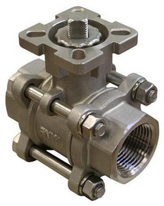 FNW 1000# NPT Threaded Stainless Steel Full Port Ball Valve FNW310AM