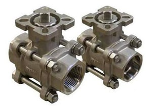 FNW 1000# 3-Piece Stainless Steel Socket Weld Full Port Isolation Ball Valve FNW310AMSW
