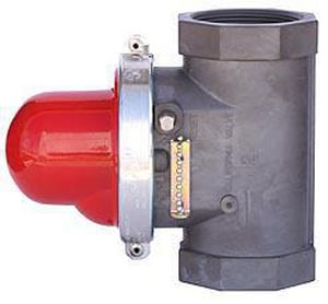 Pacific Seismic 60 psi NPT Vertical Bottom Inlet Quake Valve PSVB314