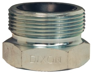 Dixon Valve & Coupling Boss™ 2 in. NPT Plated Iron Spud DGB28C