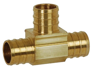 Sioux Chief PowerPex™ Brass PEX Tee S641XG