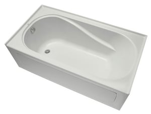 Mirabelle Provincetown® 60 x 32 in. 3-Wall Alcove Whirlpools with Left-Hand Drain MIRPRA6032L