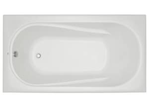Mirabelle® Provincetown 60 x 32 in. Drop-In Whirlpools with Reversible Drain MIRPRA6032