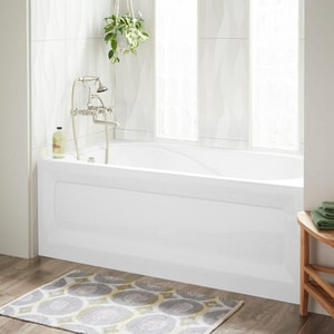 Mirabelle® Provincetown 60 x 32 in. Right-Hand Bath Tub with Skirt MIRPRS6032R