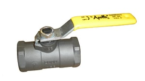 Apollo Conbraco 2000 psi 1-Piece Carbon Steel and Stainless Steel Threaded Ball Valve A9214242764
