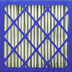 Indigo Filter Company 16 x 25 x 5 in. Furance Air Filter I24014719