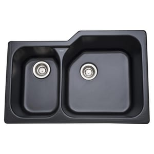 Rohl Allia 2-Bowl Kitchen Sink R6337