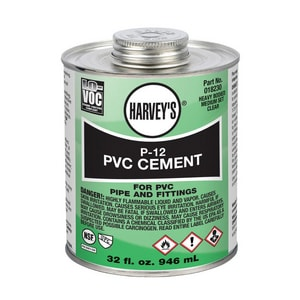 William H. Harvey P-12 Heavy Duty Cement in Clear H01823012