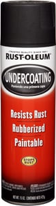 Rust-oleum 15 oz. Rubberized Undercoating in Black R248657
