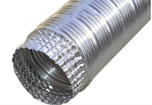 Builder's Best 8 ft. Uncompress Vent Pipe B1107