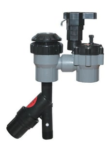 Rain Bird 1 in. 15 gpm Control Zone Valve with Pressure Regulator RAIXACZ100PRF
