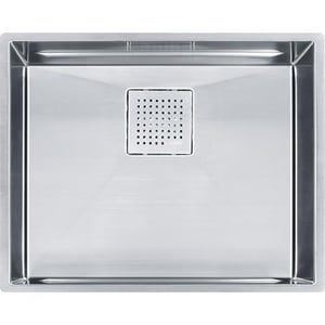 Franke Consumer Products Peak Single Bowl Kitchen Sink in Stainless Steel FPKX11021