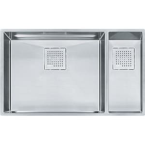 Franke Consumer Products Peak 31-1/8 x 17-3/4 x 10 in. Double Bowl Kitchen Sink Stainless Steel FPKX160