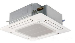 Mitsubishi Electronics USA 640 cfm Ceiling Recessed Indoor Cooling Heat Pump MPLAA24BA4