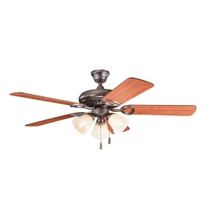 Kichler Lighting Sutter Place™ 5-Blade Ceiling Fan with Light Kit KK339400