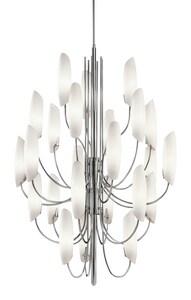 Kichler Lighting Stella 36 in. 40W 24-Light Candelabra E-12 Incandescent Chandelier KK42214