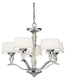Kichler Lighting Crystal Persuasion™ 60 W 5-Light Chandelier KK42029CH