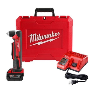 Milwaukee 18 V Right Angle Drill Kit with Battery M261521