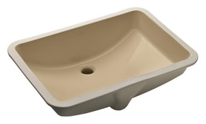 Kohler Ladena® No-Hole Undermount Bathroom Sink K2215
