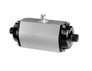 Xomox Type XRP 1/4 in. Pneumatic Aluminum and Stainless Steel Actuator XXS050S08B