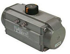 Air Torque S.P.A. 4-53/100 in. Double Acting Pneumatic Actuator APT250DE