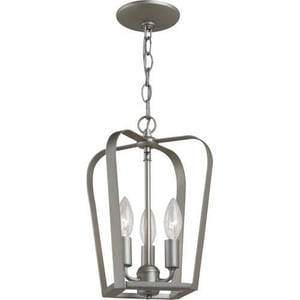 Seagull Lighting Windgate 13-7/16 in. 60 W 3-Light Candelabra Pendant S54940