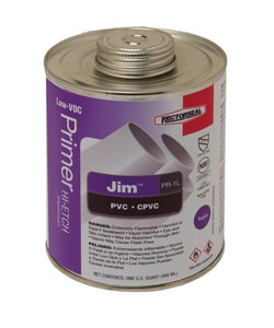 Rectorseal Jim™ PVC Purple Primer Low Volatile Organic Compound in Purple REC55918