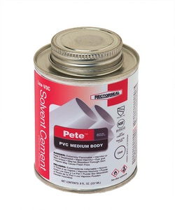 Rectorseal Pete™ 602L 602L PVC Medium Body Low Volatile Organic Compound Cement REC5592