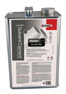 Rectorseal Homer™ 828L 1 gal. 828L PVC Heavy Body Low Volatile Organic Compound Solvent Cement REC55964