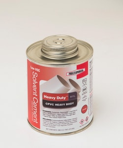 Rectorseal Heavy Duty 811L 16 oz. 811L CPVC Heavy Body Low Volatile Organic Compound Cement in Orange REC55967