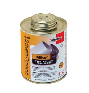Rectorseal Mike™ 425L 425L Multi-Purpose Low Volatile Organic Compound Solvent Cement in Amber REC55973