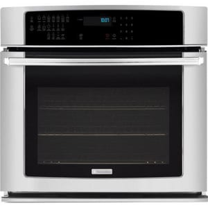 Electrolux Home Products IQ-Touch™ 4.2 CF 30 in. Single Electric Self Cleaning Wall Oven in Stainless Steel EEI30EW35JS